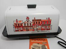 Presto Wee Bakerie Compact Counter Bread Oven Main St Bakery ~ Kitchen Vintage