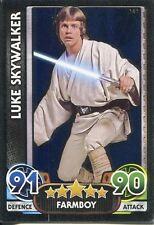 Star Wars Force Attax : Force Awakens Set 1 #161 Luke Skywalker