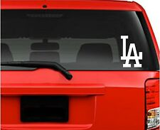 "Car Decals. Wall Decal. Laptop Decal... Los Angeles LA Dodgers. 5.5"" W x 8""H"