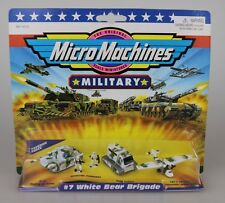 Galoob Micro Machines Military #7 White Bear Brigade Sealed