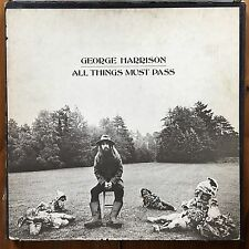 George Harrison - All Things Must Pass -Triple Classic Rock-Psych Rock Vinyl LP