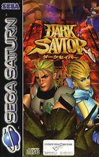 # Sega Saturn-Dark Savior (en OVP, pero con signos de desgaste) #