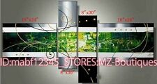O8P264 4pcs Hand painted Oil Paintings Art Home Decor Modern abstract NO Frame