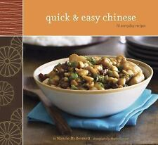 ~~QUICK & EASY CHINESE 70 EVERYDAY RECIPES BY NANCY MCDERMOTT-Softcover