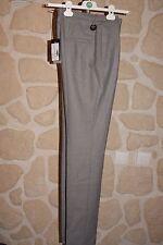 Pantalon gris neuf taille 44 marque Saint Hilaire en laine étiqueté à 169€