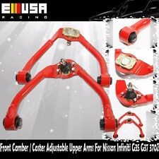 ADJ Front Camber Upper Arm for 09-13 370Z Coupe chassis Z34  Convertible RED