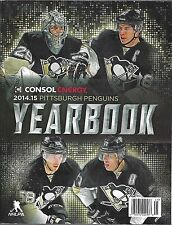 2014-15 NHL PITTSBURGH PENGUINS OFFICIAL TEAM HOCKEY YEARBOOK