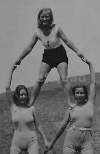 WW2 Picture Photo Member Young women of Bund Deutscher Mädel League German 1044