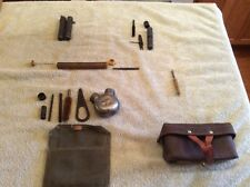 Lot Of Military Rifle Gun Cleaning Kits Vintage