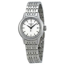 Tissot Carson White Dials Stainless Steel Ladies Watch T0852101101100