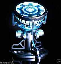 New Iron Man Arc Reactor LED Light Figure Legend 1:1 Scale Model Tony Stark MK43