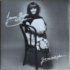 """JEANNE MARIE SENS """"JE NE VOUS ECOUTE PLUS"""" 33T LP"""