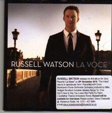 (CN600) Russell Watson, La Voce - 2010 DJ CD