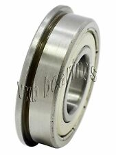 "FR188ZZ Flanged Shielded Bearing 1/4""x1/2""x3/16"" inch Ball Bearings 19450"