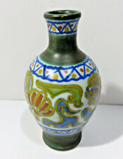 """Antique GOUDA Holland Hand Painted Art Pottery Vase 4"""""""