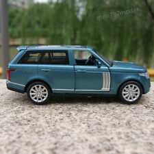 Land Rover Range Rover Model Cars 1:32 SUV Pull Back Alloy Diecast Toy Blue gift