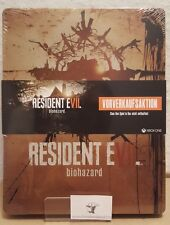 XBOX One ps4 RESIDENT EVIL BIOHAZARD STEELBOOK PREORDER