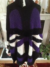 Just Cavalli Poloneck Jumper Size UK 16