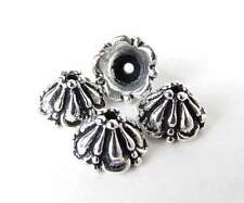 TierraCast Antiqued Silver Ox Bead Cap Tiffany 8mm