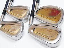 Ladies Womens Gold MARUMAN TITUS X-2 4pc L-Flex IRONS SET Golf Clubs inv