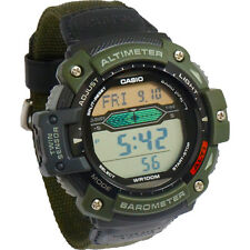 Casio Mens Twin Sensor Multi-Function Analog Digital Watch Green - SGW300HB-3A