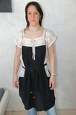 dress robe tunique soie dentelles HIGH USE taille 40  NEUVE ÉTIQUETTE val. 450€