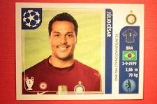 PANINI CHAMPIONS LEAGUE 2011/12 N 74 JULIO CESAR INTER WITH BLACK BACK MINT!!