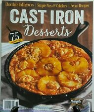 Cast Iron Desserts 2016 75 Recipes & Tips Pineapple Crumb Cake FREE SHIPPING sb