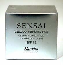 KANEBO SENSAI CELLULAR PERFORMANCE CREAM FOUNDATION CF 14 BAMBY BEIGE
