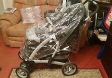 MOTHERCARE TRENTON TRAVEL SYSTEM ,CARRYCOT,CAR SEAT AND BASE,RAIN COVER, + MORE