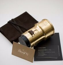 Lomo Petzval 85mm F2.2 Lens (Brass) Nikon Mount - CLEAN! Complete w/ Box