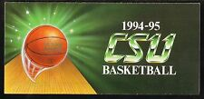 1994-95 Cleveland State Vikings Basketball Ticket Brochure/Schedule