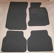 BMW E65 7 SERIES 2002-2007 TUFTED GREY CARPET CAR MATS WITH 4 x PADS