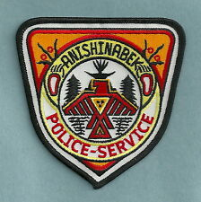ANISHINABEK CANADA TRIBAL POLICE PATCH