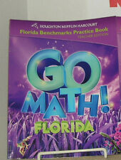 Houghton Go Math! Florida Benchmark Teacher Guide Grade 3 (2011)VG(R6s4-3)214