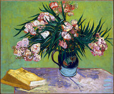 VINCENT VAN GOGH Oleander Reproduction of painting 8.3X12 CANVAS PRINT poster