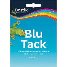 Bostik® BLU TACK   Blue Sticky Tac   Economy Size   Clean Safe Re-usable   100g