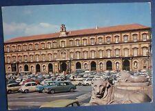 NAPOLI- PIAZZA ANIMATA AUTO - ANNI '70