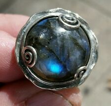 NWT  PAZ CREATIONS STERLING SILVER RING SZ 8 MADE in  ISRAEL #401