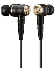 JVC HA-FX1100 WOOD series Canal type earphone high resolution sound source black