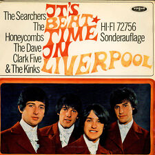 V.A. - It's Beat Time In Liverpool (Vinyl LP - 1965 - DE - Original)