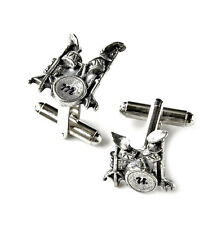 Customizable Drums Cufflinks - Gifts for Men - Gift Ideas - Handmade - Gift Box