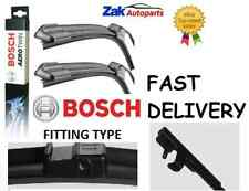 SEAT ALHAMBRA (01-07) ALL MODELS FRONT WIPER BLADES BOSCH AEROTWIN SET *NEW*
