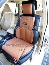 TO FIT A MERCEDES E CLASS CAR, SEAT COVERS, YS 09 ROSSINI SPORTS TAN / BLACK