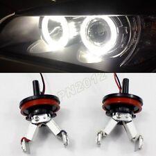 For BMW E82 E90 E60 E64 E70 E89 Front Angel Eye Headlight Ring Light Bulbs Led