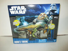 Star Wars Walmart Exclusive Jabba's Throne w Oola & Salacious Crumb sealed