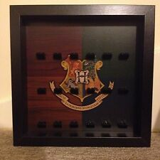 Lego Harry Potter Hogwarts Coat of Arms Mini Figure Minifig Display Frames Cases
