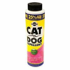 Pet Cat & Dog repellente in polvere di origine animale non tossici NATURALE PER GIARDINO VERANDA UK Vendita