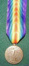 Original WW1 Victory Medal - Herbert G Taylor RAMC served S.Persia from Walsall