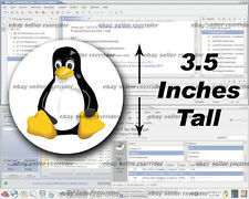 linux tux decal sticker pc os free shipping